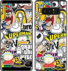 "Чехол на Samsung Galaxy Note 8 Popular logos ""4023c-1020-15886"""
