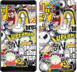 "Чехол на Huawei Mate 10 Popular logos ""4023u-1116-15886"""