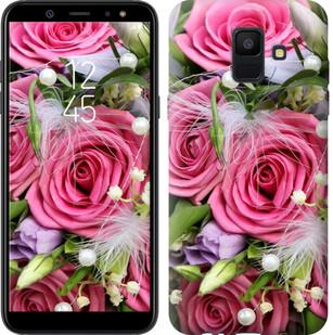 "Чехол на Samsung Galaxy A6 2018 Нежность ""2916u-1480-15886"""