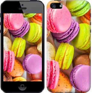 """Чехол на iPhone SE Макаруны """"2995c-214-15886"""""""