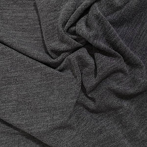 Трикотаж ангора арктика меланжевая темно-серая