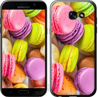 """Чехол на Samsung Galaxy A5 (2017) Макаруны """"2995c-444-15886"""""""