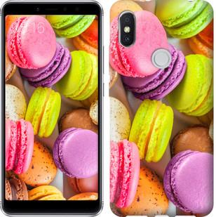 "Чехол на Xiaomi Redmi S2 Макаруны ""2995u-1494-15886"""