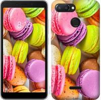 """Чехол на Xiaomi Redmi 6 Макаруны """"2995u-1521-15886"""""""