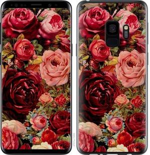 """Чехол на Samsung Galaxy S9 Цветущие розы """"2701c-1355-15886"""""""