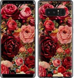 """Чехол на Samsung Galaxy Note 8 Цветущие розы """"2701c-1020-15886"""""""