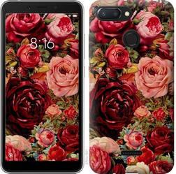 """Чехол на Xiaomi Redmi 6 Цветущие розы """"2701u-1521-15886"""""""