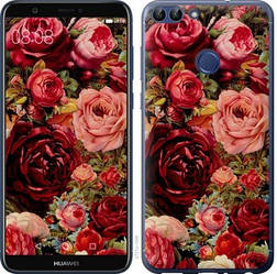 """Чехол на Huawei P Smart Цветущие розы """"2701c-1346-15886"""""""