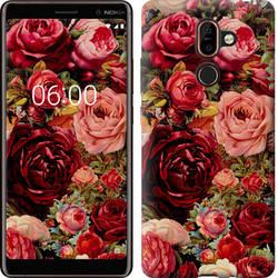 """Чехол на Nokia 7 Plus Цветущие розы """"2701u-1354-15886"""""""