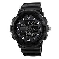 Skmei 1189Черные  мужские спортивные  часы, фото 1