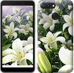 "Чехол на Xiaomi Redmi 6 Белые лилии ""2686u-1521-15886"""