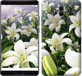 """Чехол на Huawei Mate 10 Белые лилии """"2686u-1116-15886"""""""