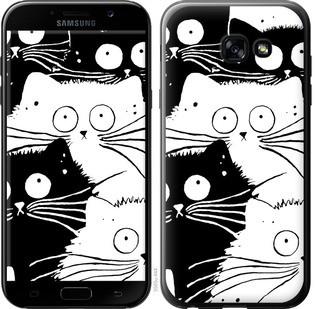 "Чехол на Samsung Galaxy A5 (2017) Коты v2 ""3565c-444-15886"""