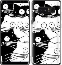 "Чехол на Samsung Galaxy Note 8 Коты v2 ""3565c-1020-15886"""