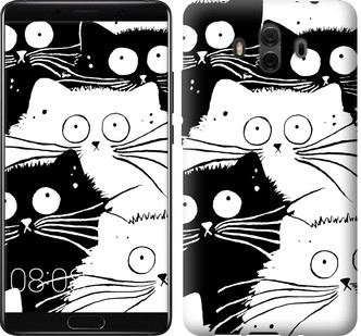"Чехол на Huawei Mate 10 Коты v2 ""3565u-1116-15886"""