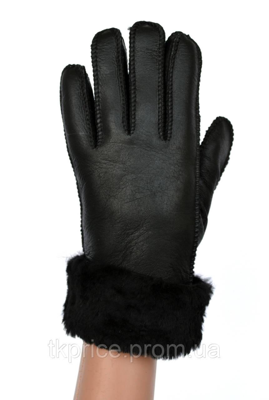 Женские перчатки  на натуральном меху
