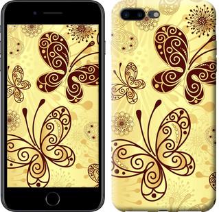 "Чехол на iPhone 8 Plus Красивые бабочки ""4170c-1032-15886"""