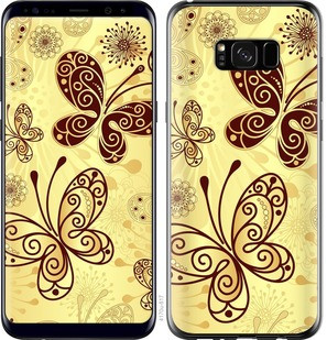 "Чехол на Samsung Galaxy S8 Plus Красивые бабочки ""4170c-817-15886"""