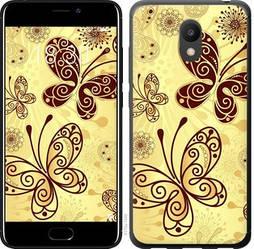 """Чехол на Meizu M6 Красивые бабочки """"4170u-1349-15886"""""""