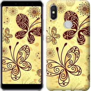 """Чехол на Xiaomi Redmi S2 Красивые бабочки """"4170u-1494-15886"""""""