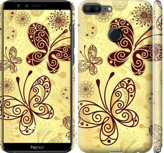 "Чехол на Huawei Honor 9 Lite Красивые бабочки ""4170c-1359-15886"""