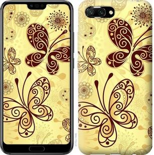 "Чехол на Huawei Honor 10 Красивые бабочки ""4170u-1496-15886"""