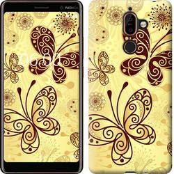 """Чехол на Nokia 7 Plus Красивые бабочки """"4170u-1354-15886"""""""