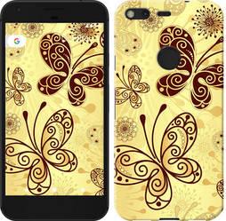 """Чехол на Google Pixel Красивые бабочки """"4170c-400-15886"""""""