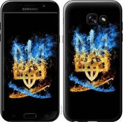 "Чехол на Samsung Galaxy A5 (2017) Герб ""1635c-444-15886"""