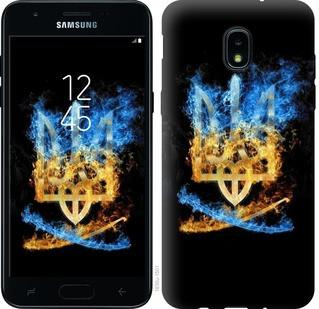 "Чехол на Samsung Galaxy J3 2018 Герб ""1635u-1501-15886"""