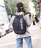 Рюкзак копия Supreme черный, фото 2