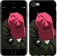 """Чехол на iPhone 8 logo de yeezy """"3995c-1031-15886"""""""