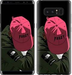 "Чехол на Samsung Galaxy Note 8 logo de yeezy ""3995c-1020-15886"""