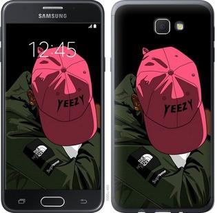 "Чехол на Samsung Galaxy J5 Prime logo de yeezy ""3995u-465-15886"""