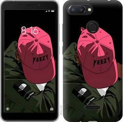 "Чехол на Xiaomi Redmi 6 logo de yeezy ""3995u-1521-15886"""