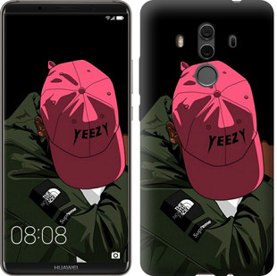 """Чехол на Huawei Mate 10 Pro logo de yeezy """"3995u-1138-15886"""""""