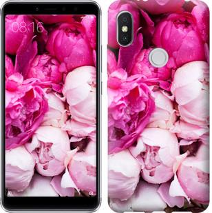 """Чехол на Xiaomi Redmi S2 Розовые пионы """"2747u-1494-15886"""""""