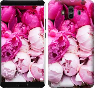 """Чехол на Huawei Mate 10 Розовые пионы """"2747u-1116-15886"""""""