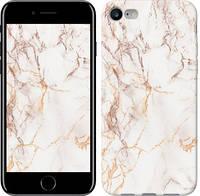 """Чехол на iPhone 7 Белый мрамор """"3847c-336-15886"""""""