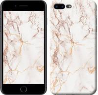 """Чехол на iPhone 7 Plus Белый мрамор """"3847c-337-15886"""""""