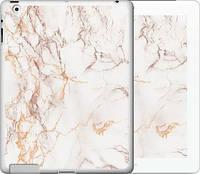 """Чехол на iPad 2/3/4 Белый мрамор """"3847c-25-15886"""""""