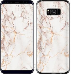 "Чехол на Samsung Galaxy S8 Plus Белый мрамор ""3847c-817-15886"""