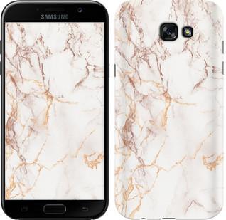 "Чехол на Samsung Galaxy A7 (2017) Белый мрамор ""3847c-445-15886"""