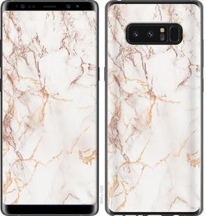 "Чехол на Samsung Galaxy Note 8 Белый мрамор ""3847c-1020-15886"""
