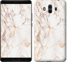 "Чехол на Huawei Mate 10 Белый мрамор ""3847u-1116-15886"""