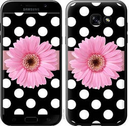 """Чехол на Samsung Galaxy A5 (2017) Горошек 2 """"2147c-444-15886"""""""