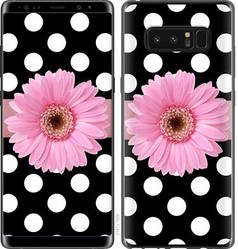"Чехол на Samsung Galaxy Note 8 Горошек 2 ""2147c-1020-15886"""