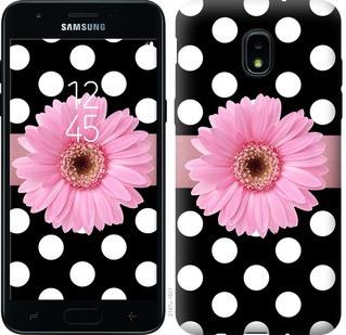 """Чехол на Samsung Galaxy J3 2018 Горошек 2 """"2147u-1501-15886"""""""