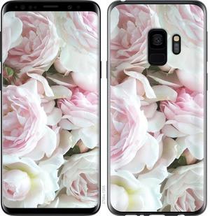 "Чехол на Samsung Galaxy S9 Пионы v2 ""2706c-1355-15886"""