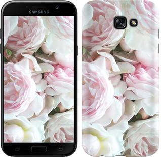 """Чехол на Samsung Galaxy A7 (2017) Пионы v2 """"2706c-445-15886"""""""